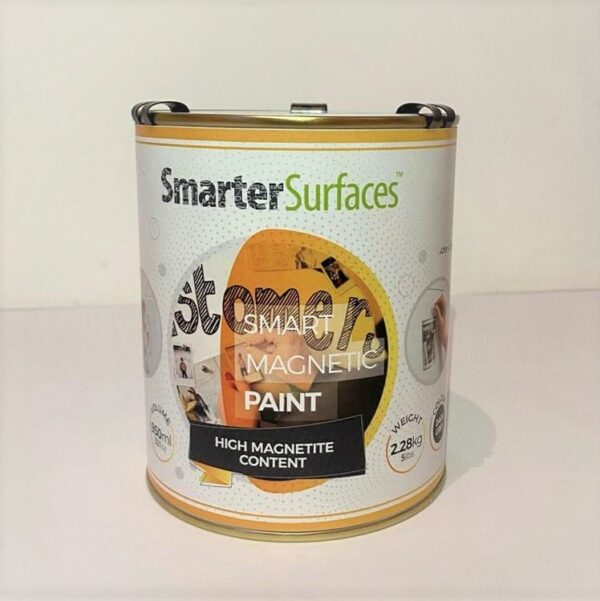Smart Magnetic Paint tin front