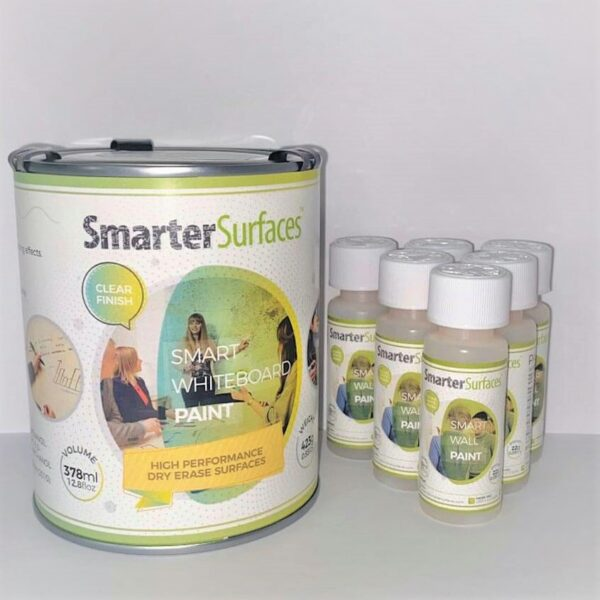 Smart Whiteboard Paint Clear Tin and Part-A
