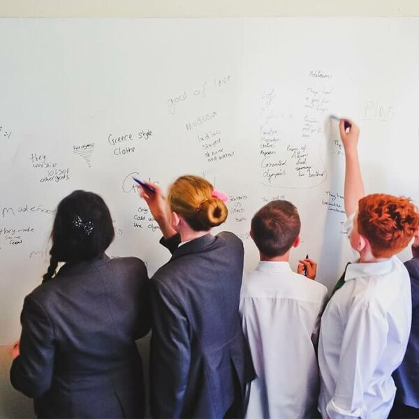 smart wall paint being used in education