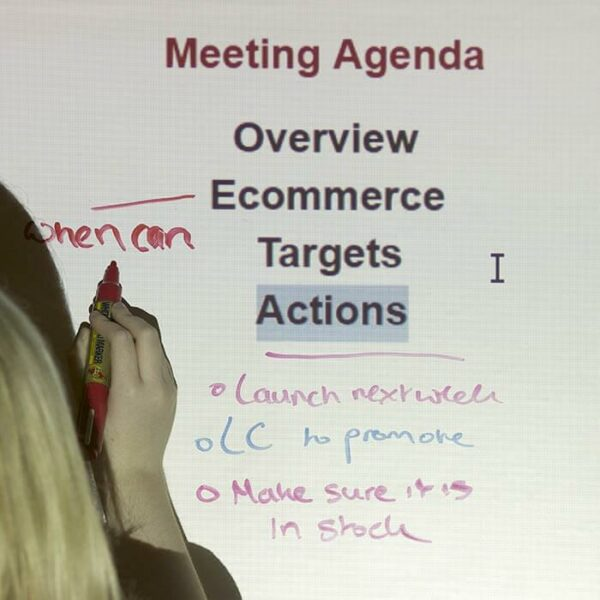 projection and whiteboard surface smart office films projection and dry erase