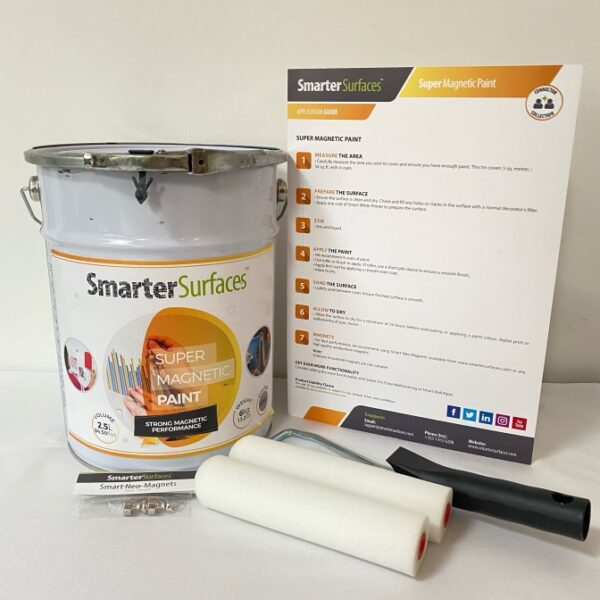 super magnetic paint full kit and app guide