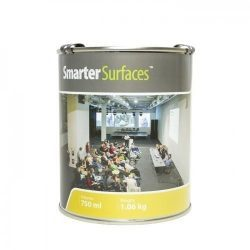 smarter surfaces projector paint tin